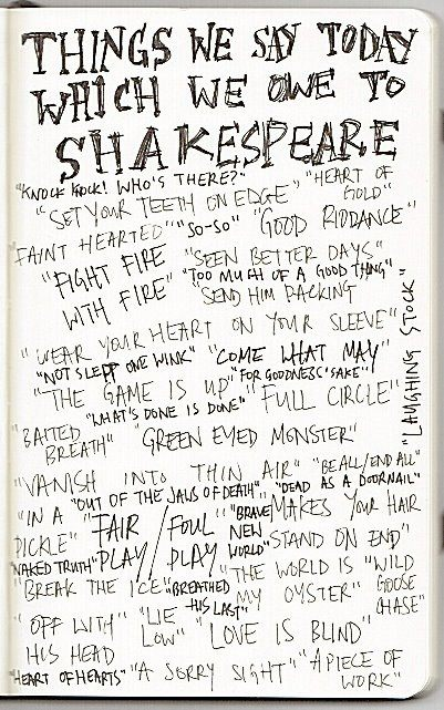 IN CELEBRATION OF SHAKESPEARE'S BIRTHDAY